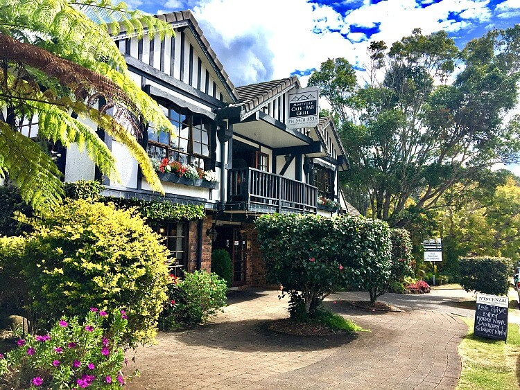Montville Pub in the Sunshine Coast Hinterland