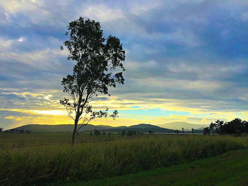 Sunset near Airlie Beach North Queensland