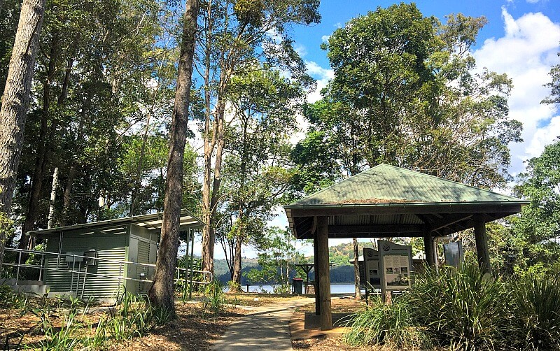 Picnic Ground at Lake Baroon near Maleny