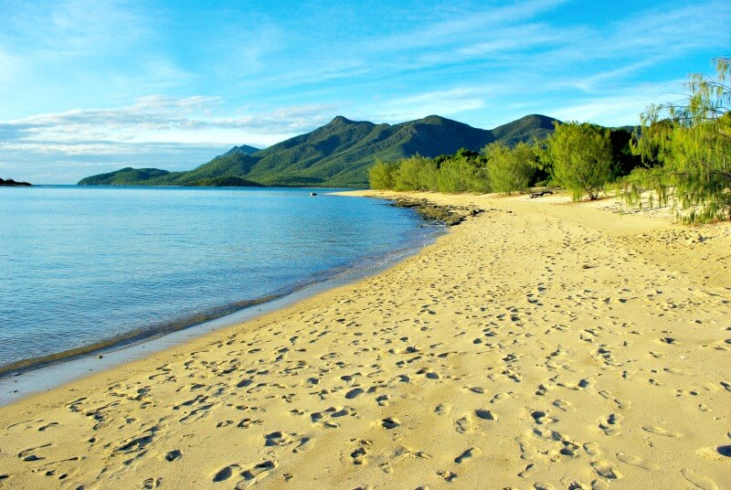Golden Sands at Cape Gloucester one of our favourite beaches near Airlie Beach