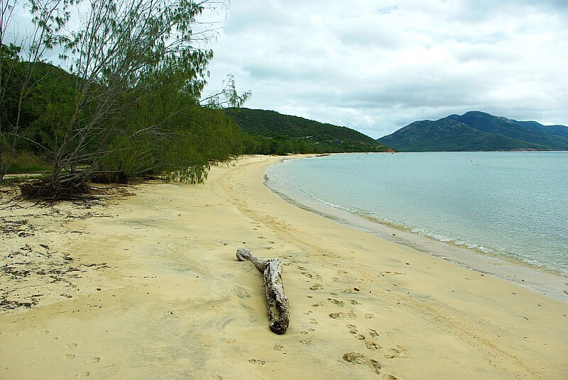 Deserted Beach at Hydeaway Bay North Queensland one of the lovely beaches near Airlie Beach