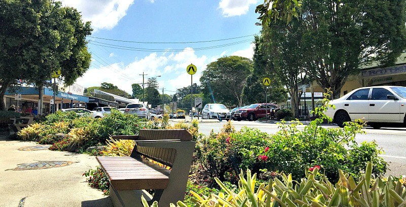Street view of Maleny