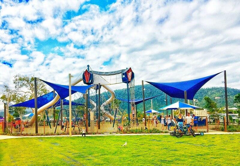 New Playground on Airlie Beach Foreshore