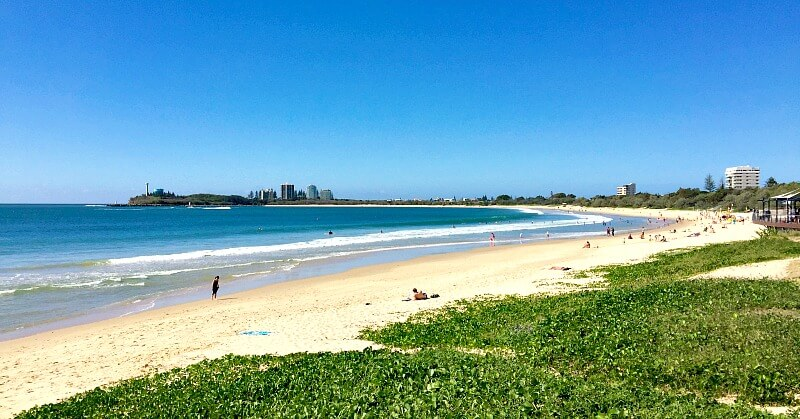 Mooloolaba is one of the Best Sunshine Coast Beaches for Swimming