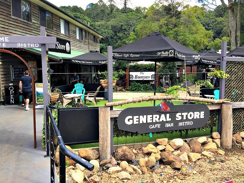 Bunya Mountains General Store Entrance