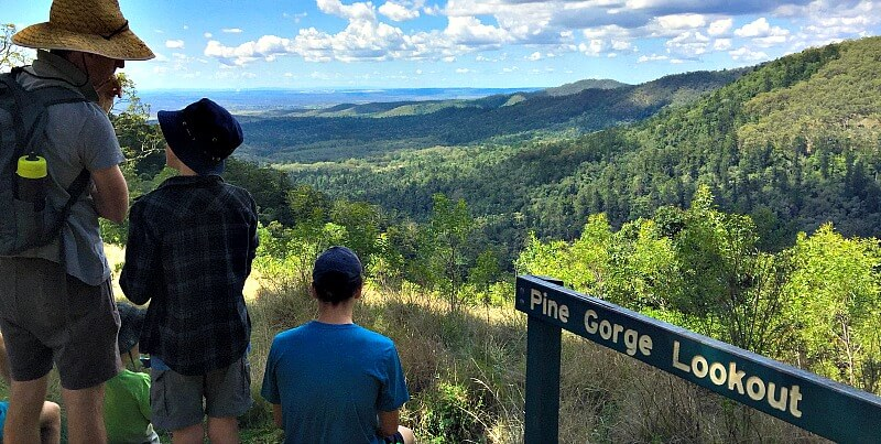 Pine Gorge Lookout