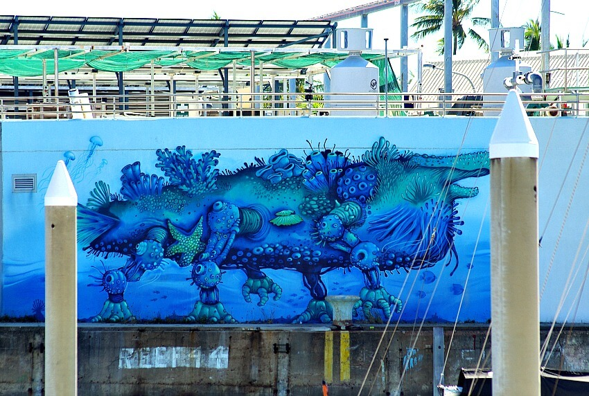Coratherium by Wosnan is a creature from the depths of the ocean painted in blue