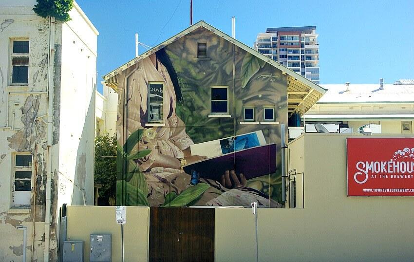 Mantra Rae Ogden Street Mural Townsville