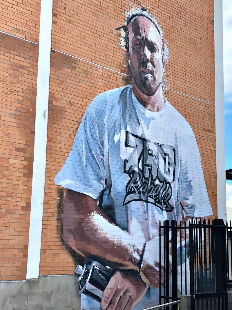The Smizla Portrait City Lane Townsville
