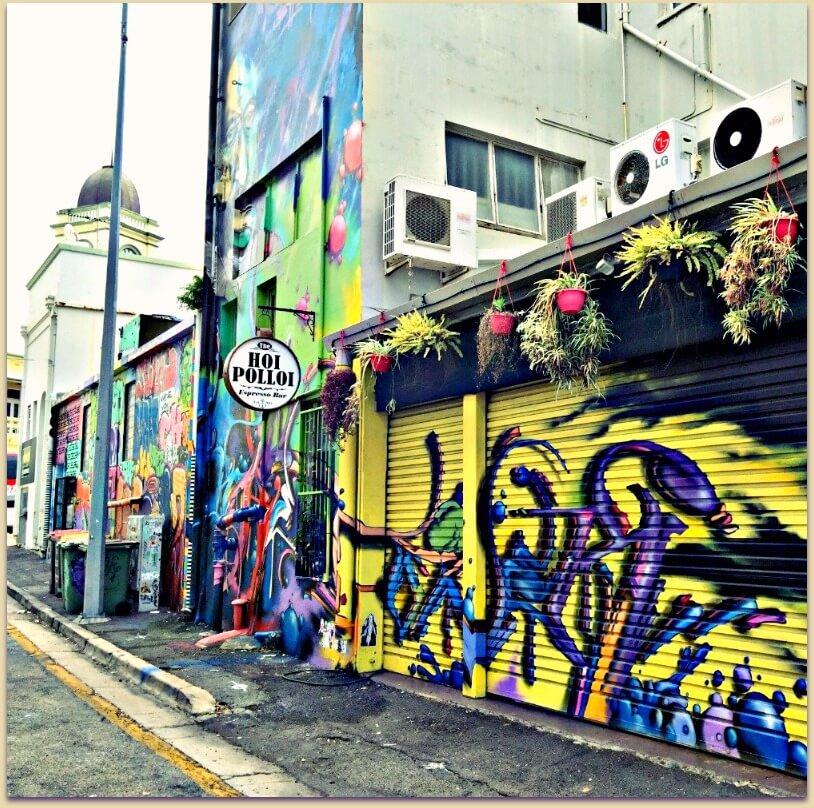 Street Art Denham Lane Townsville