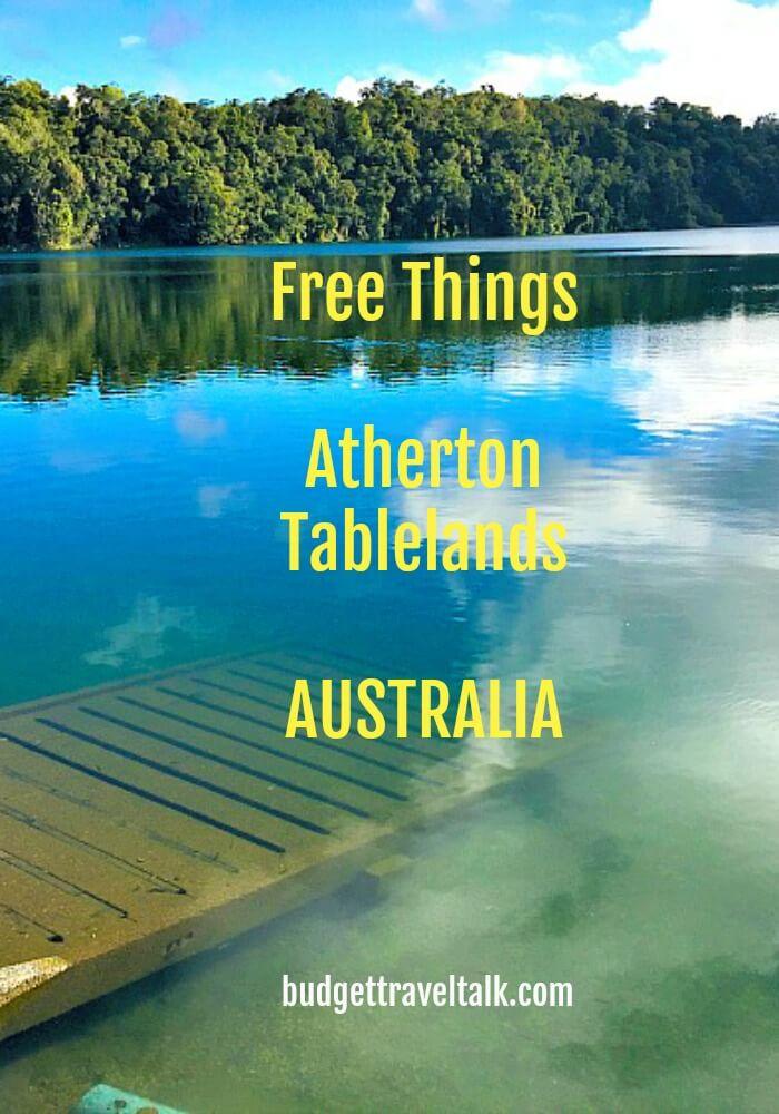 Lake Barrine Atherton Tablelands