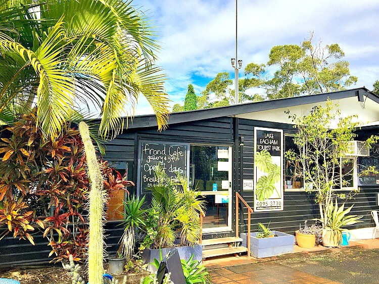 Frond Cafe at Lake Eacham Tourist Park
