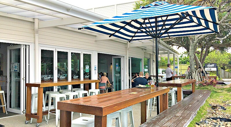 Outdoor DIning Area at Peregian Beach Hotel