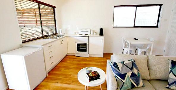 Kitchen in Cooran Airbnb Interior