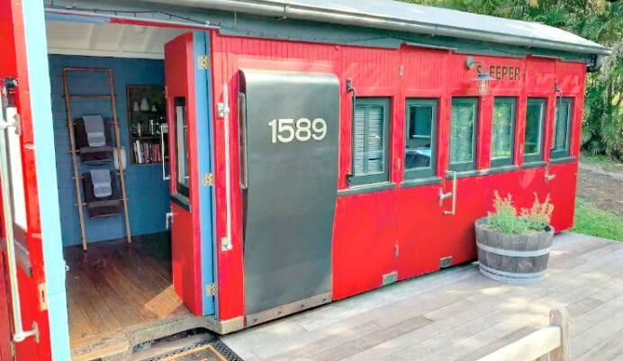 Noosa Hinterland Accommodation photo of Little Red Train