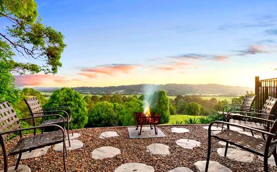 View from Omaroo House Bli Bli Sunshine Coast
