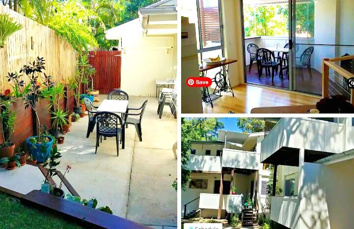 Collage of Cheap Noosa Accommodation at Sunshine Beach