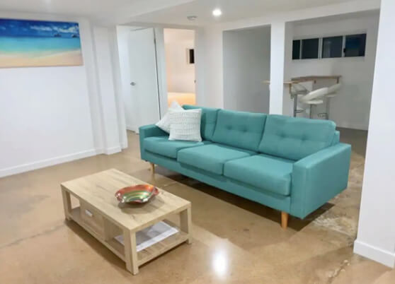 Lounge at Whitehouse Airbnb Apartment North Ward Townsville