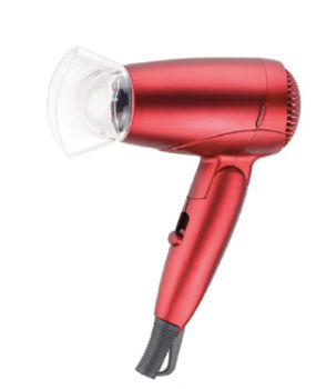 Red 12 v hair dryer a great caravanning gift idea