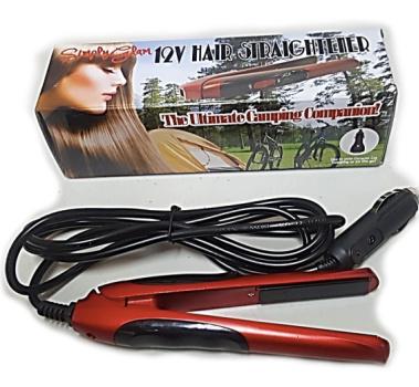 red 12 v hair straightener caravan gift ideas