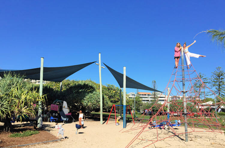 Playground at Tickle Park Picnic Area