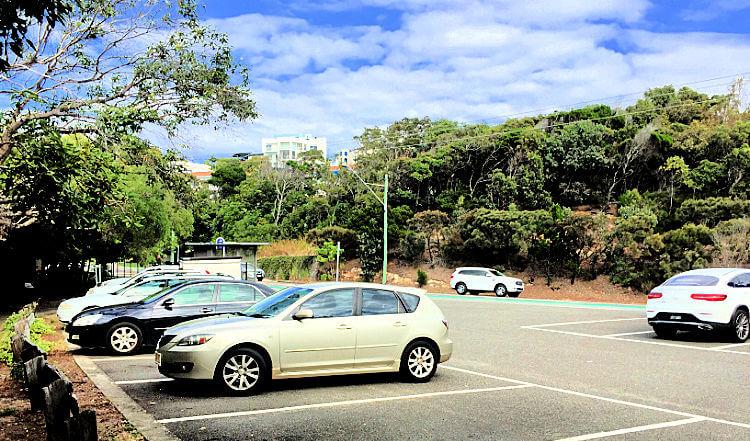 Third Bay Coolum Carpark and Bus Stop