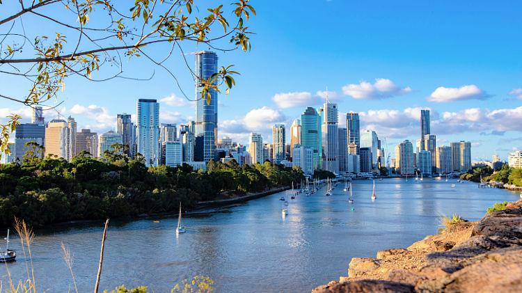 Kangaroo Point Cliffs Brisbane River