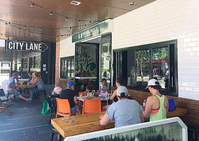 Born Wild City Lane Townsville Outside Seating