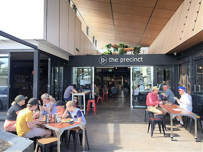 The Precinct Outdoor Seating Townsville